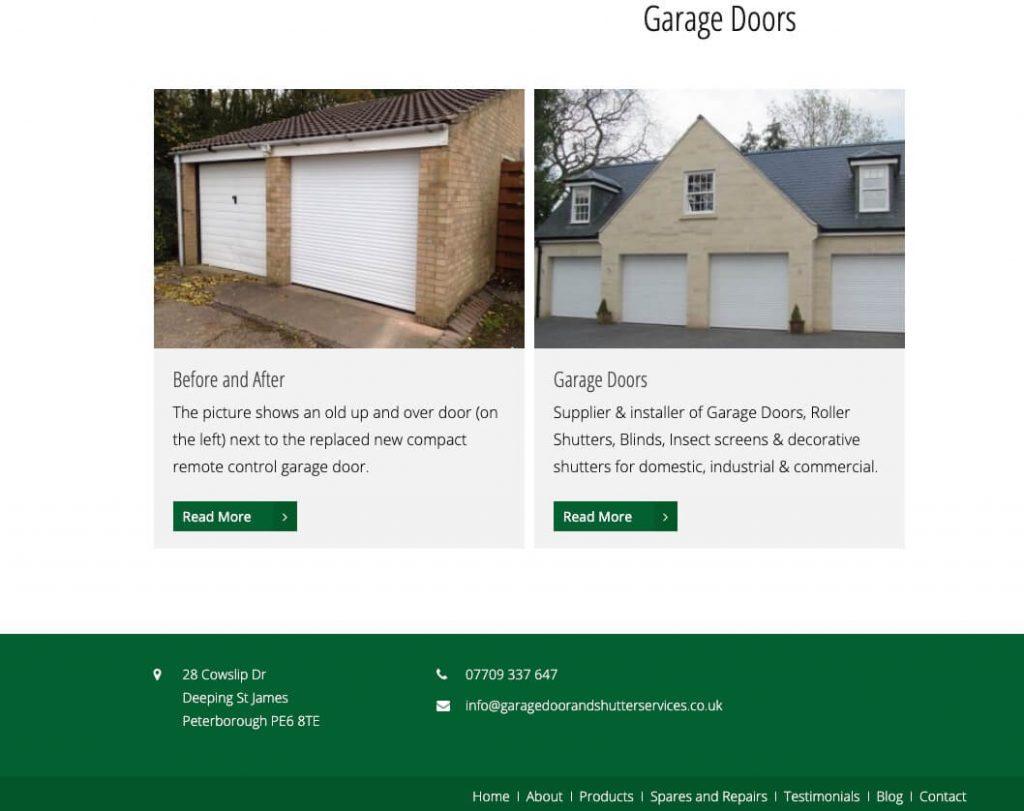garage doors website