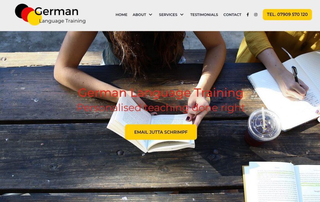 German example website
